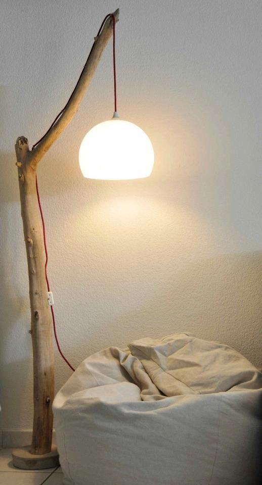 lamparas originales rustica