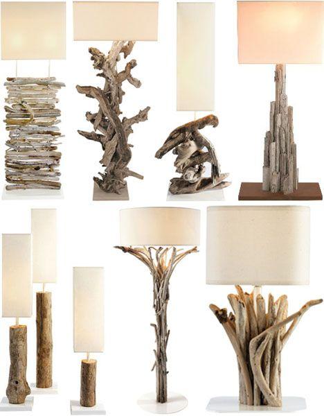 L mparas r sticas de madera for Ideas rusticas para el hogar