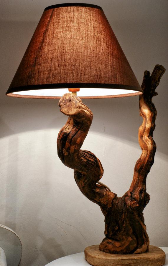 L mparas r sticas de madera for Fabrica de aberturas de madera