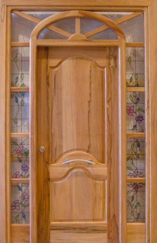 Liquidacion puertas y marcos de exterior en madera maciza for Puertas de madera maciza exterior
