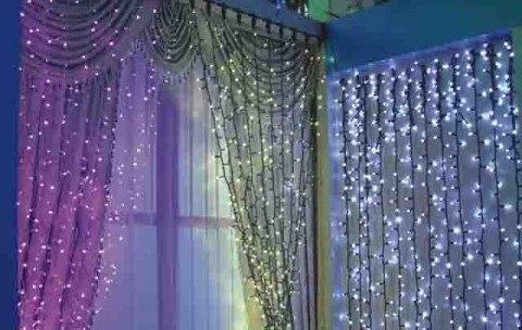 Luces cortinas for Cortina de luces
