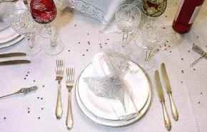 Decorar mesa en año nuevo