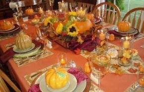 Mesa de Acción de Gracias