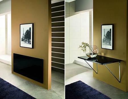 Mesas plegables modernas azdeco - Mesas plegables salon ...