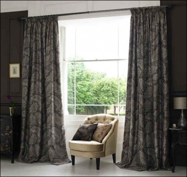 C mo elegir los modelos de cortinas - Cortinas de salon modernas fotos ...