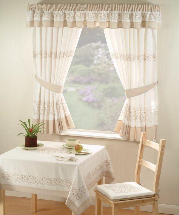 C mo elegir los modelos de cortinas for Ver cortinas de comedor