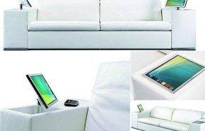 Os presentamos el sofá multimedia