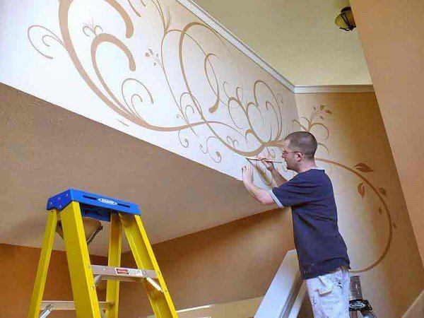 murales-para-decorar-nuestro-hogar-pintado-a-mano