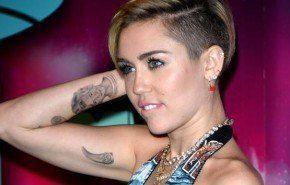 Los tatuajes de Miley Cyrus