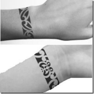 tatuaje de brazaletes