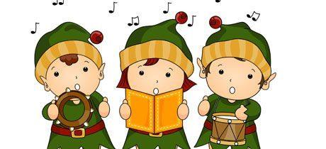 niños bailar navidad