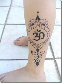 Tatuaje de Om