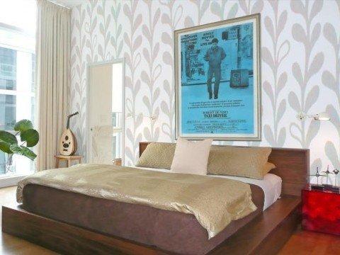 papel-flores-dormitorio