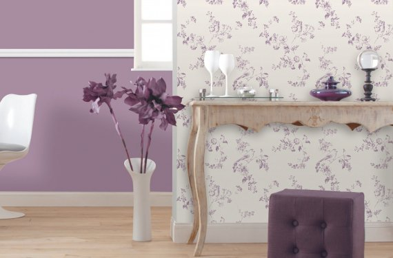 Colores para el pasillo de casa for Papel pintado salon marron
