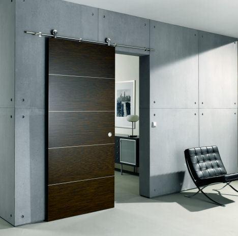 puertas-correderas-madera-marron-guia