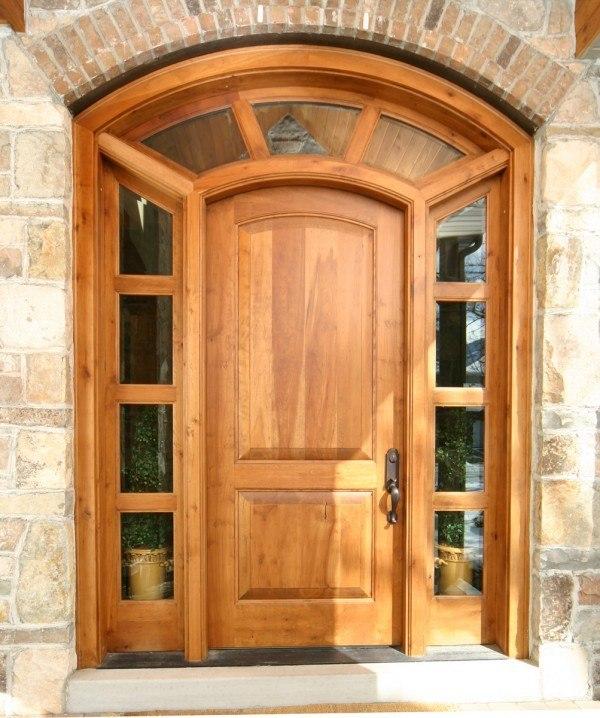 Puertas en madera for Puertas en madera para interiores