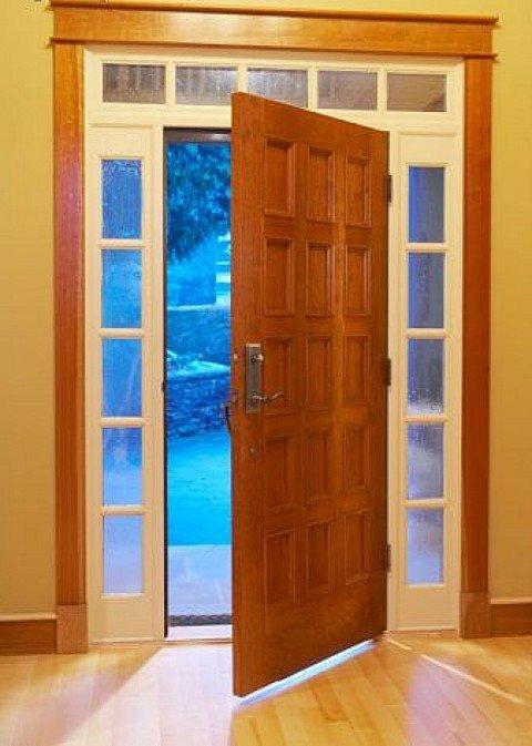 Puertas en madera - Como limpiar puertas de madera ...