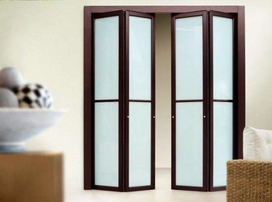 Puertas De Baño Plegables:Las puertas plegables son aquellas puertas que pueden permitirnos el