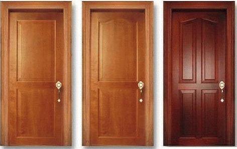 Puertas en madera for Puertas de madera interiores modernas