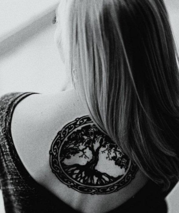 Tatuajes Del árbol De La Vida Tendenziascom
