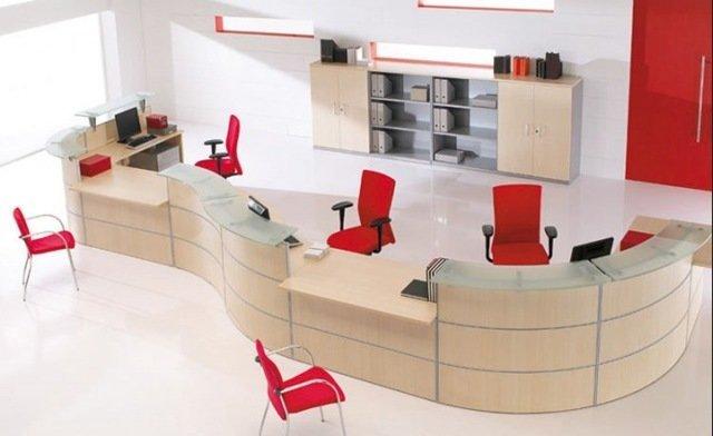 Tus muebles de oficina for Mobiliario recepcion oficina