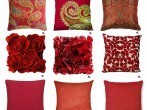 red-decorative-pillows