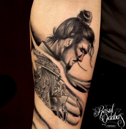 Tatuaje Sámurai De Fernando Alonso