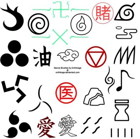Tatuajes Naruto