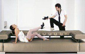 La modernidad hecha sofá