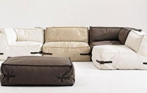 Música y diseño en el sofá
