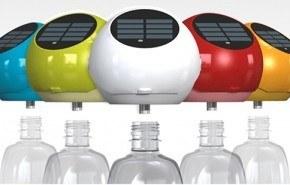 Solar Bulb , convierte las botellas de plástico en lámparas solares