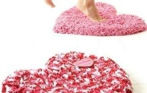 Alfombra de baño para San Valentín
