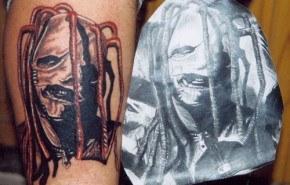 Tatuaje de Corey Taylor