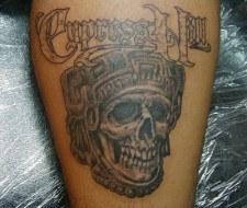 Tatuaje de Cypress Hill