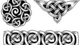 Diseños infinitos con influencia Celta