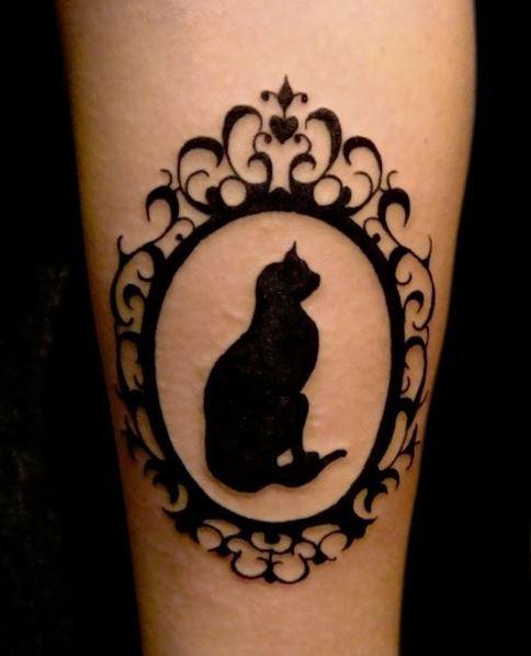 tattoo de gato