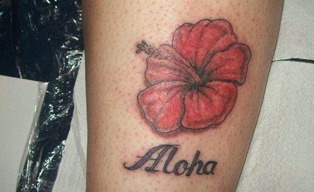 Tatuajes De Flores Flor Del Hibisco Tendenziascom - Flor-hawaiana-tattoo