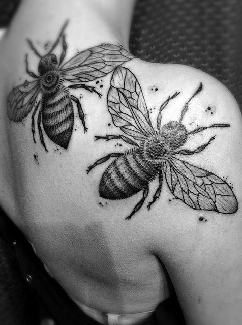 tatuaje-abejas