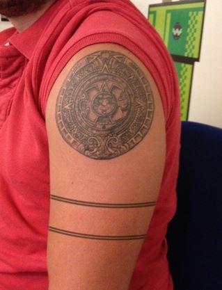 tatuaje-azteca-brazo