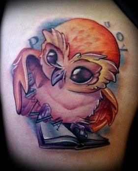 tatuaje buhos4