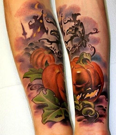tatuaje calabazas