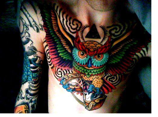 Tatuajes De Búhos Tendenziascom