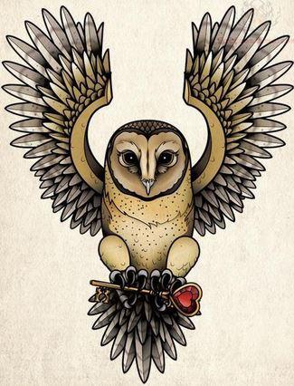tatuaje de búhos3