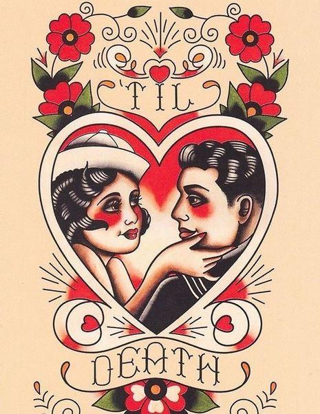 tatuaje de corazones 2