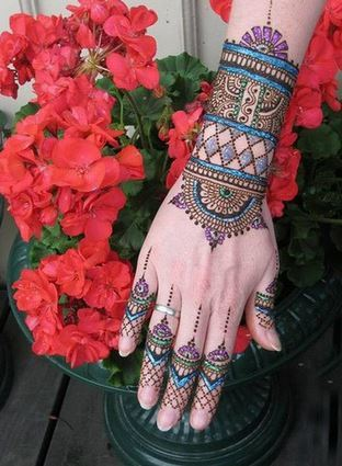 tatuaje-de-henna-color