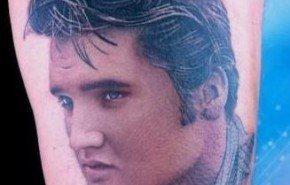 Tatuajes de Elvis Presley