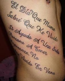 tatuaje frase costado1