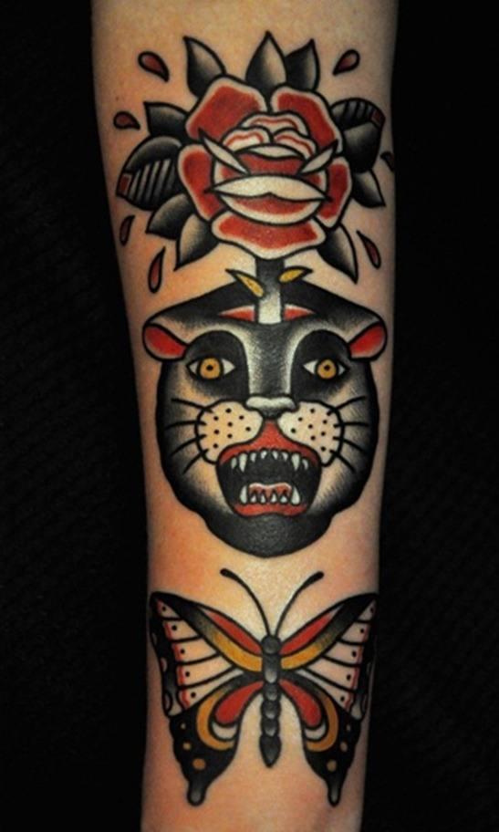 Tatuajes de panteras negras