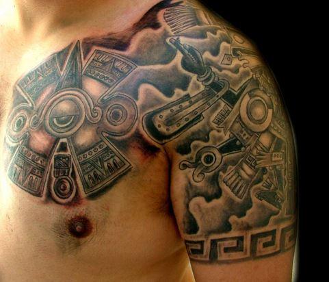 Tatuajes Del Calendario Azteca Tendenzias Com