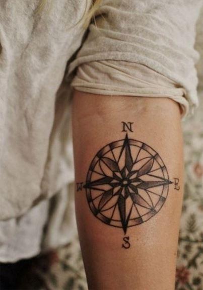 tatuajes-de-brújulas4